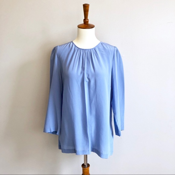 Anthropologie Tops - Blue Blouse